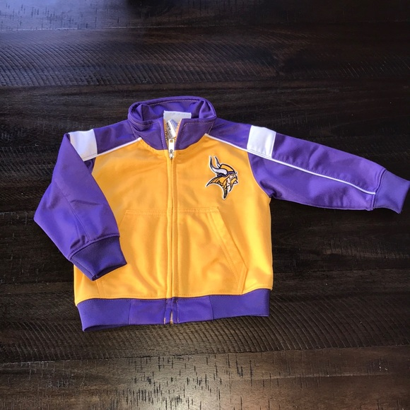 check out 9f709 ffafd Minnesota Vikings baby track jacket